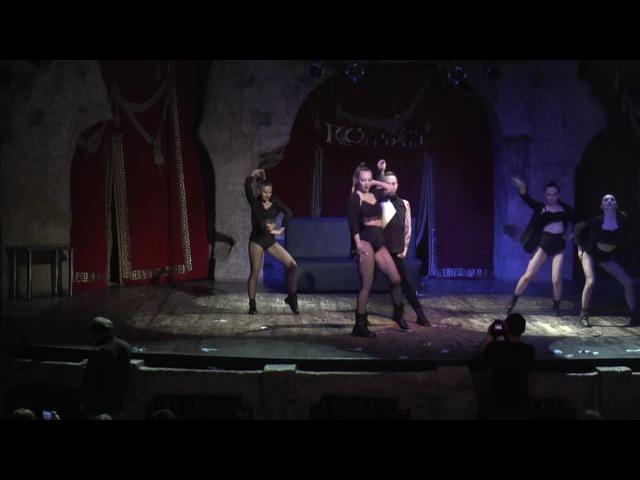 Виталий Клименко показательное выступление на Отчетном концерте студии танца Space Dance 2016. Огни Уфы Колизео.space_dance-ufa