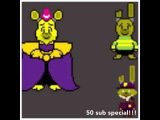 50 sub special!!!! Fnaf cross over with Undertale
