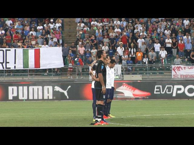 Italia-Francia: minuto di silenzio per le vittime del terremoto del Centro Italia
