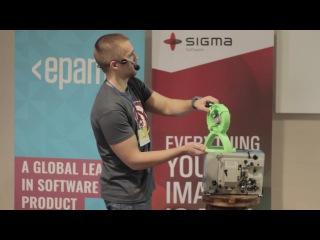 KharkivJS #7 2016 — Eugene Nezhuta — JS in IoT