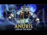Стрим | Smite | Анубис : разгромил Зевса в миде.