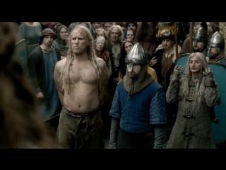Викинг развлекается на собственной казни