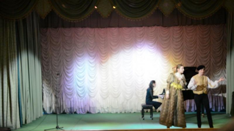 Дуэт Сюзанны и Керубино, Моцарт - исполняют Корчемкина А. и Воробьева Н.