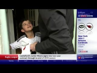 Маленький фанат Фулхэма отправил 3 фунта и письмо игроку клуба, а он к нему наведался домой