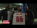 Tampa Bay Buccaneers Jameis Winston and Donovan Smith have surprises for Superstars- June 27, 2016