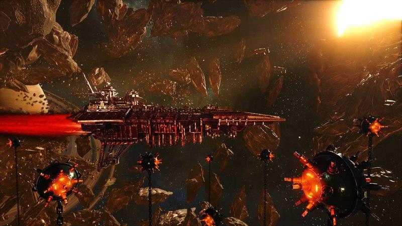Battlefleet Gothic: Armada (2016) PC | RePack от Black Box - Скриншот 2