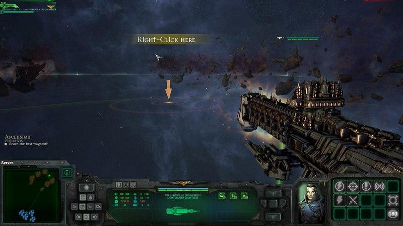 Battlefleet Gothic: Armada (2016) PC | RePack от Black Box - Скриншот 1