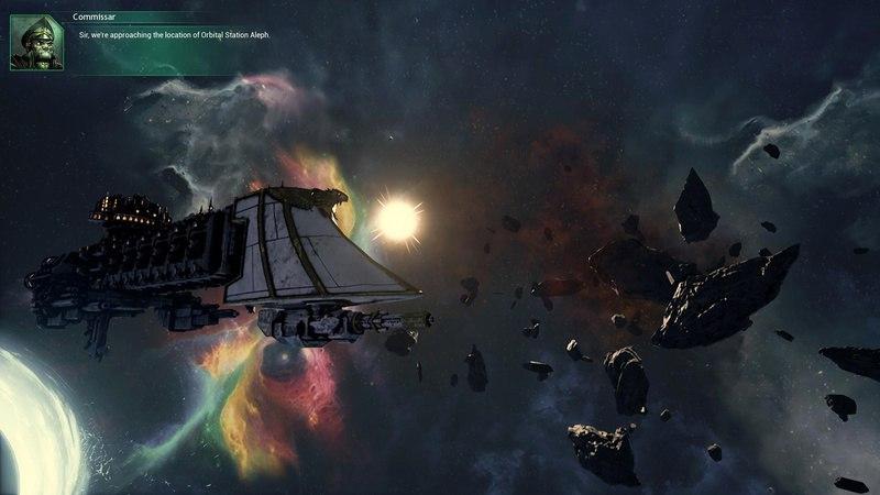 Battlefleet Gothic: Armada (2016) PC | RePack от Black Box - Скриншот 3