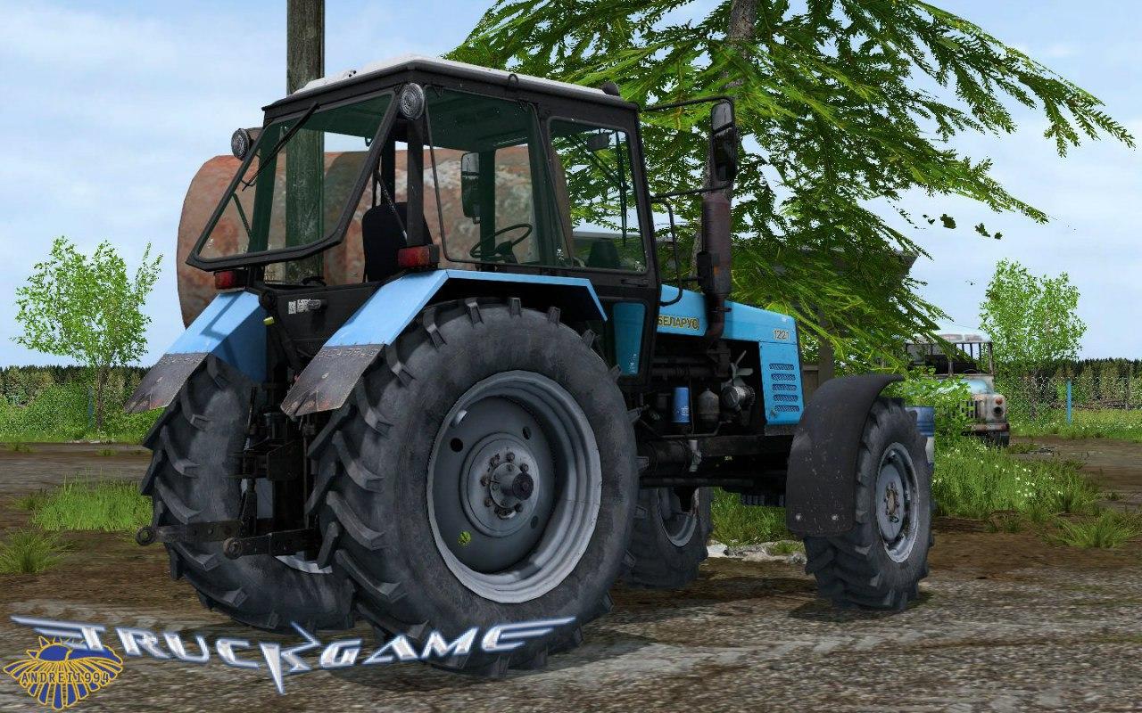 Трактор МТЗ-1221 для Farming Simulator 2015 - Скриншот 1