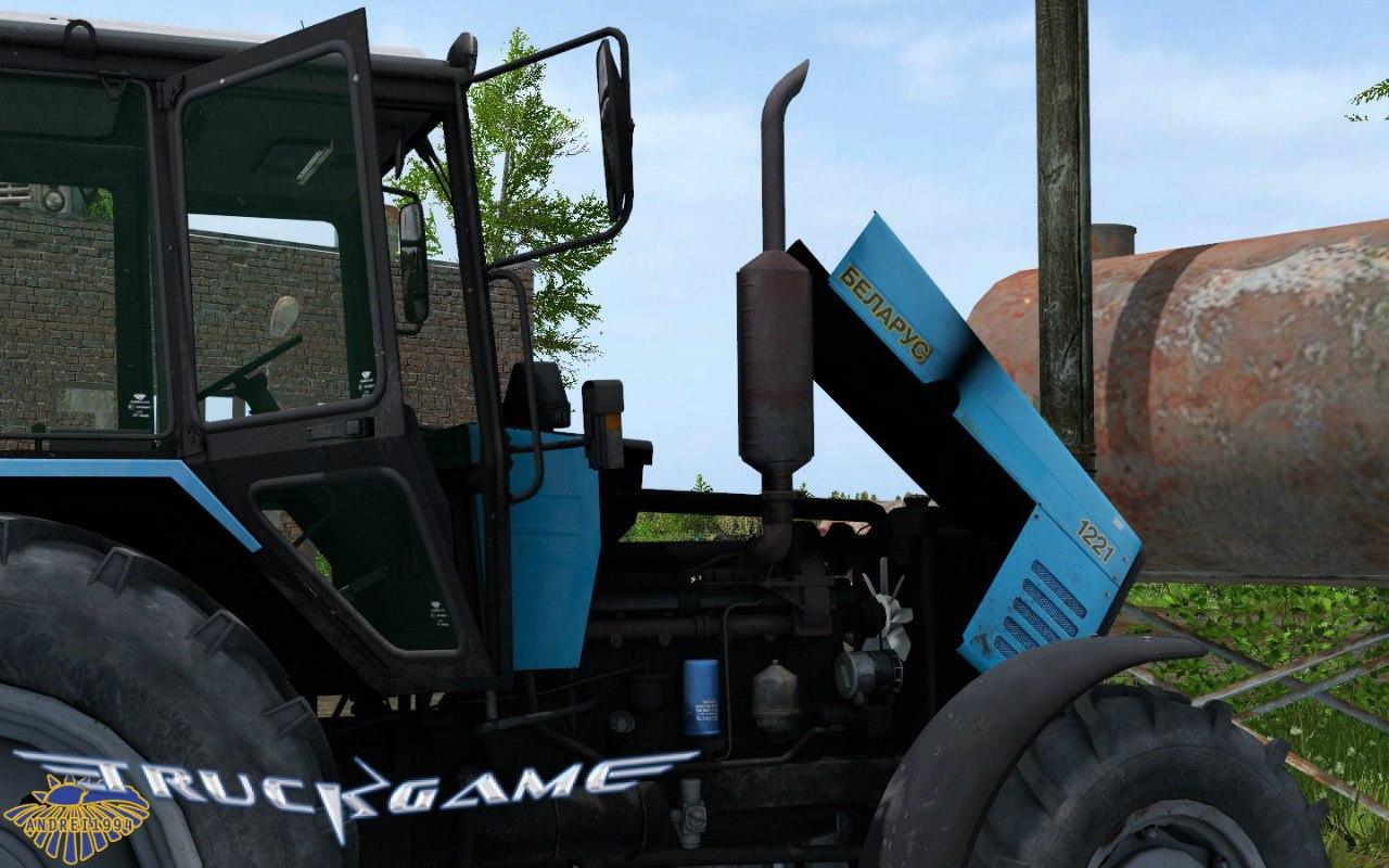 Трактор МТЗ-1221 для Farming Simulator 2015 - Скриншот 2