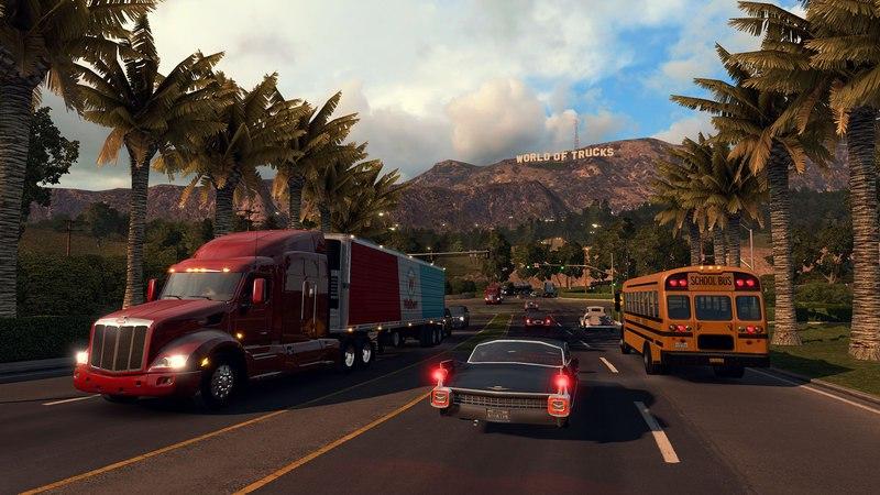 American Truck Simulator [v 1.3.1.1s + 7 DLC] (2016) PC | RePack от xatab - Скриншот 2