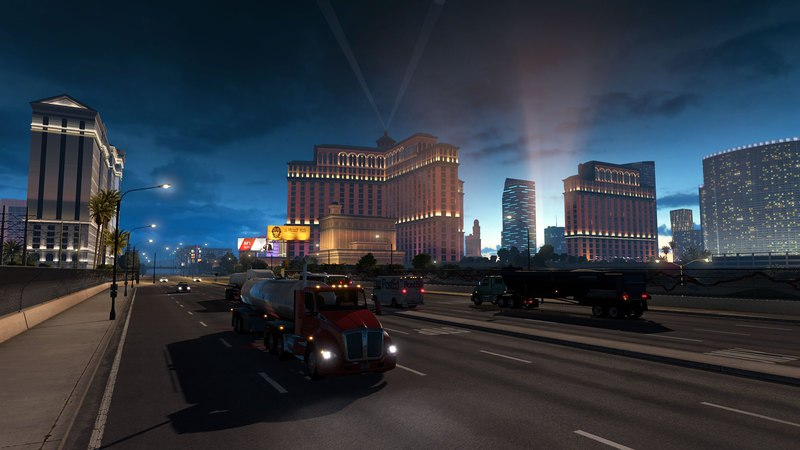 American Truck Simulator [v 1.3.1.1s + 7 DLC] (2016) PC | RePack от xatab - Скриншот 3