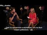 Интервью Джейми Дорнана для канала RED! (Субтитры)