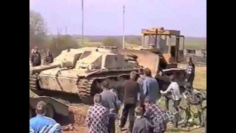Подъем немецкой САУ StuG 40 Как новыи