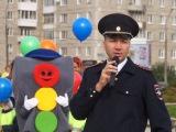 Почти 400 дошкольников отметили День знаний акцией по безопасности на дорогах