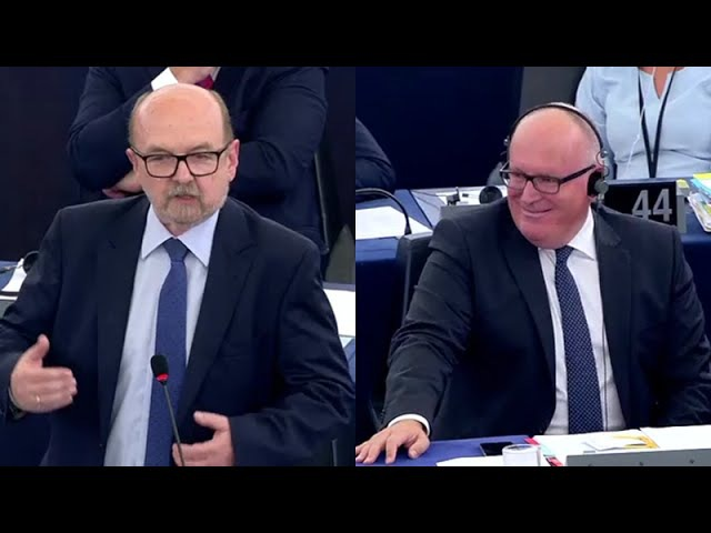 Prof. Ryszard Legutko znowu broni Polski w PE (Debata ws. Polski) (13.09.2016)