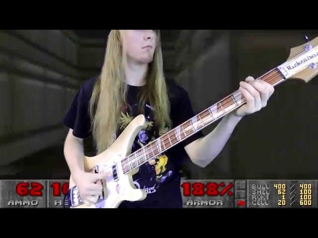 DOOM The Imp Song (E1M2) Bass Cover