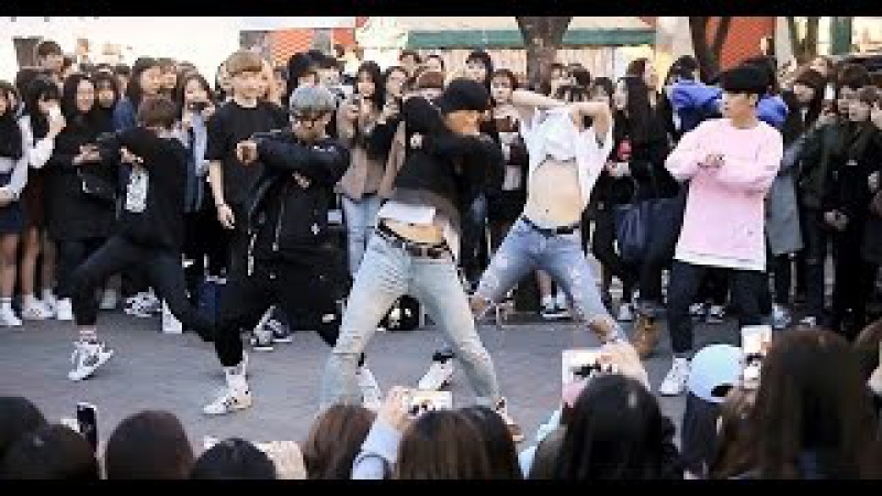 남자아이돌 노래 18곡을 10분만에 커버댄스하는 DOB(디오비)