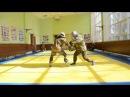 Показательные выступления по спортивному ножевому бою курсантов Подразделения 124
