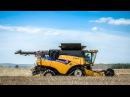 New Holland CR9.90 à la moisson 2016