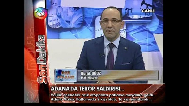 Ege Tv (24.11.2016) Öğretmenlerin Ekonomisi ne durumda