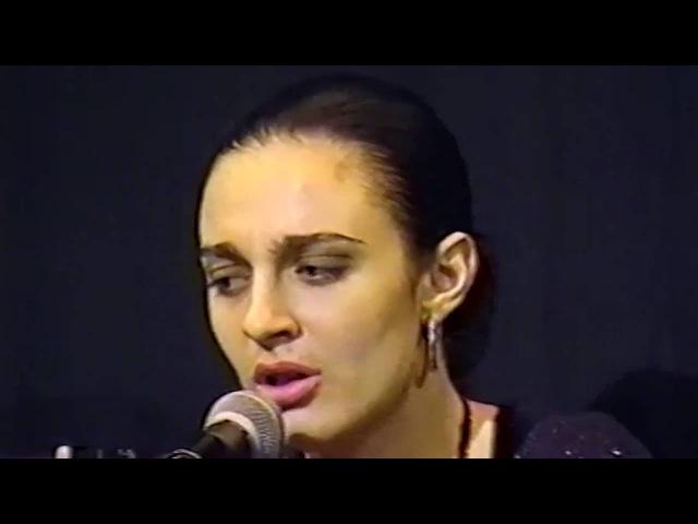 Елена Ваенга (Хрулева), эксклюзивные архивные видеозаписи выступлений в 1999 г. (Елене - 22 года)