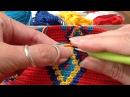 Mochila how to prevent the yarns from tangling hoe hou je de draden uit de knoop