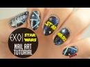 "EXO x Star Wars ""Lightsaber"" Nail Art Tutorial"