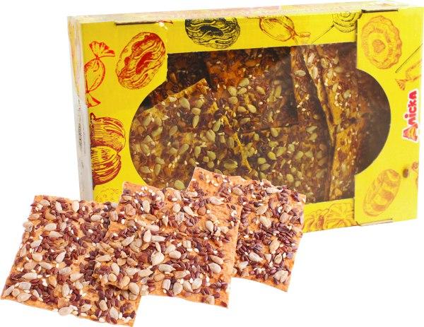 Печиво зернове Лубенське, Аліска, 400 г