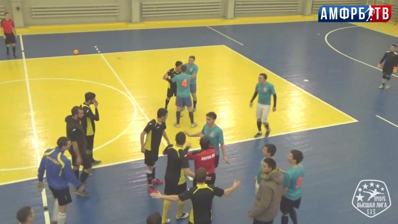 Видеоэпизод дисциплинарных нарушений в матче Сфера vs Тортуга