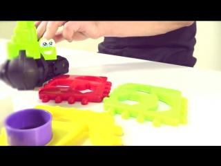 Мультики про машинки Манипулятор! Игрушки и Игры для малышей. Геометрические фигуры кукольный театр