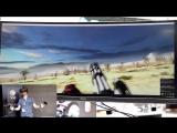 Геймплей Serious Sam для VR устройств.