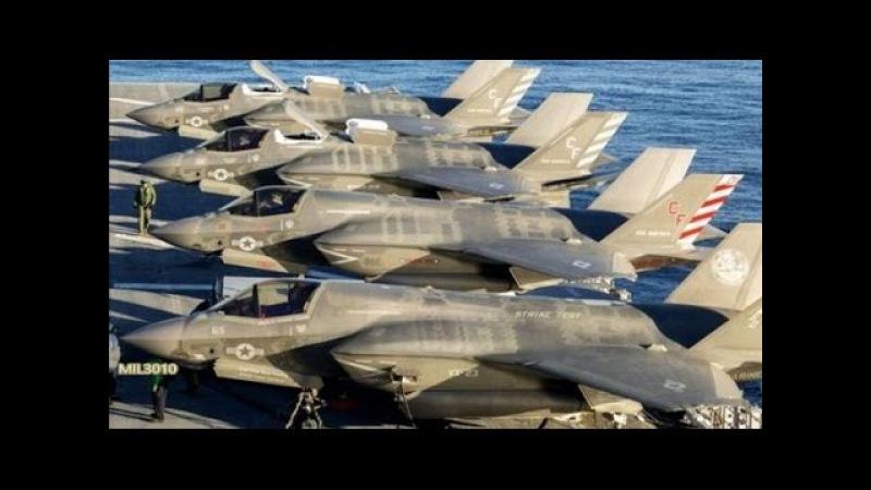 ⚡ Превосходство ВМС США F-35B на новом десантном корабле Америка