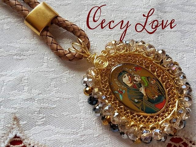 COMO BISELAR UNA MEDALLA con Cecy Love (alambrismo)