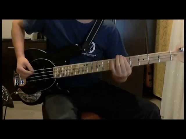 КИНО - Красно-желтые дни ( Bass Cover )