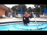 Girl swimming in Nike outfit Wetlook