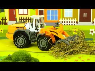 El Tractor con El Camión y muchos más - Rápido y Divertido Carritos | La zona de construcción