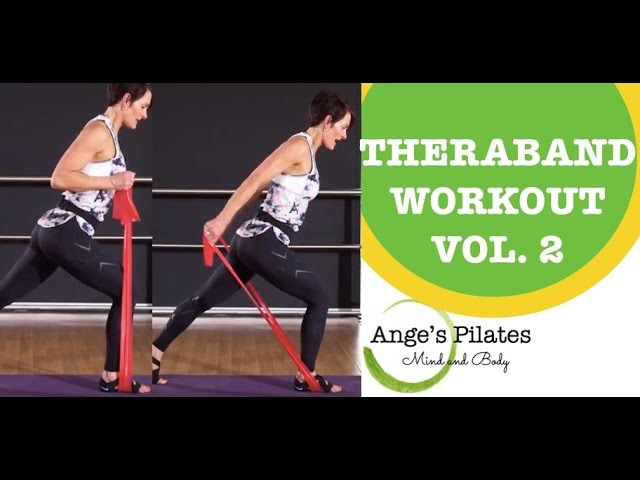 Ange's Pilates Theraband Workout (Vol. 2)