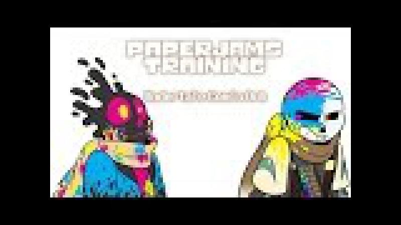 Undertale Au Comic Dub - Paperjams Training