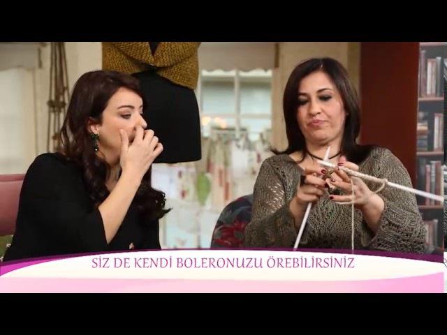 Alize Fashion Boucle ile Kolay Yelek Yapımı Making Vest with Alize Fashion Boucle