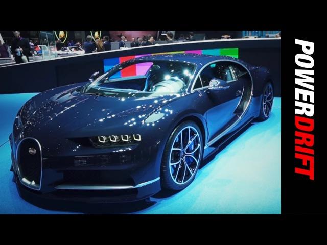 Bugatti Chiron : Geneva Motor Show 2017 : PowerDrift