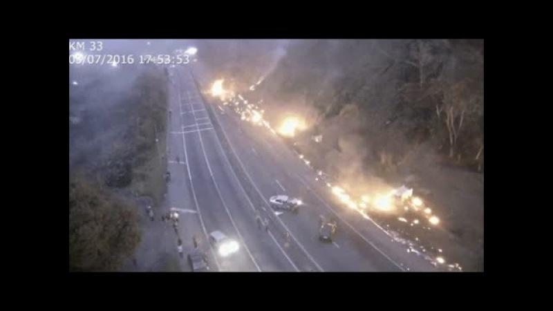 TRAGÉDIA DA BR 277 NOVO VÍDEO MOSTRA DESTRUIÇÃO