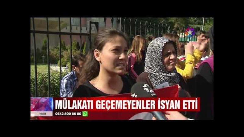 Tartışma Yaratan Mülakatı Geçemeyen Öğretmen Adaylarının Protestoları