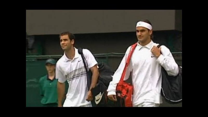 Roger Federer vs Pete Sampras Wimbledon 2001 4th Round