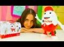 КИНДЕР сюрприз видео для детей. Kinder SURPRISE идет в школу мультики с игрушками. Игры ...