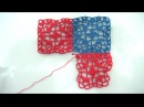 How To Crochet Flower Motif Granny Square And How To Join As You Go Tutorial Pattern 8