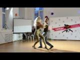 #jam_studio. Весенний концерт 08.04.17. Глеб и Екатерина. Бачата
