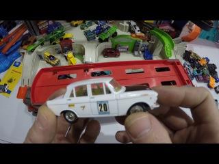 Машинки Пита 152 автовоз и гараж хот вилс про игрушки коллекционные модели машинк...