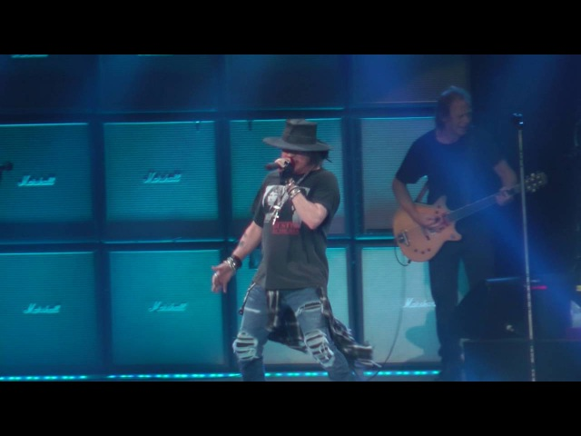 AC/DC W/Axl Rose - Thunderstruck (Madison Square Garden,Nyc) 9.14.16