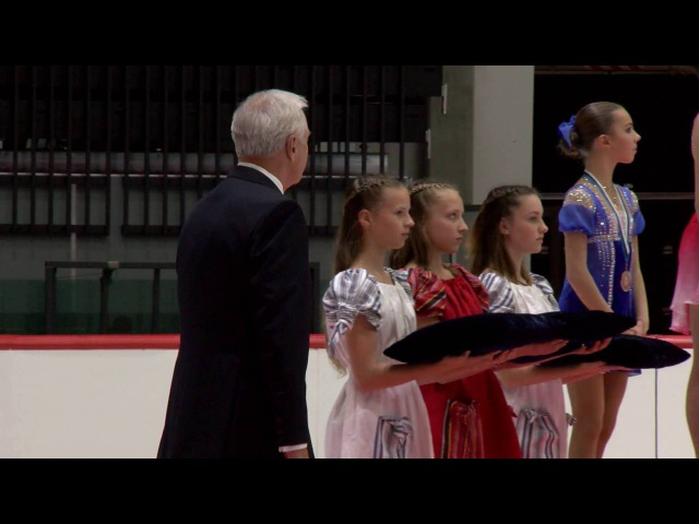 2016 ISU Junior Grand Prix - Tallinn - Ladies Victory Ceremony